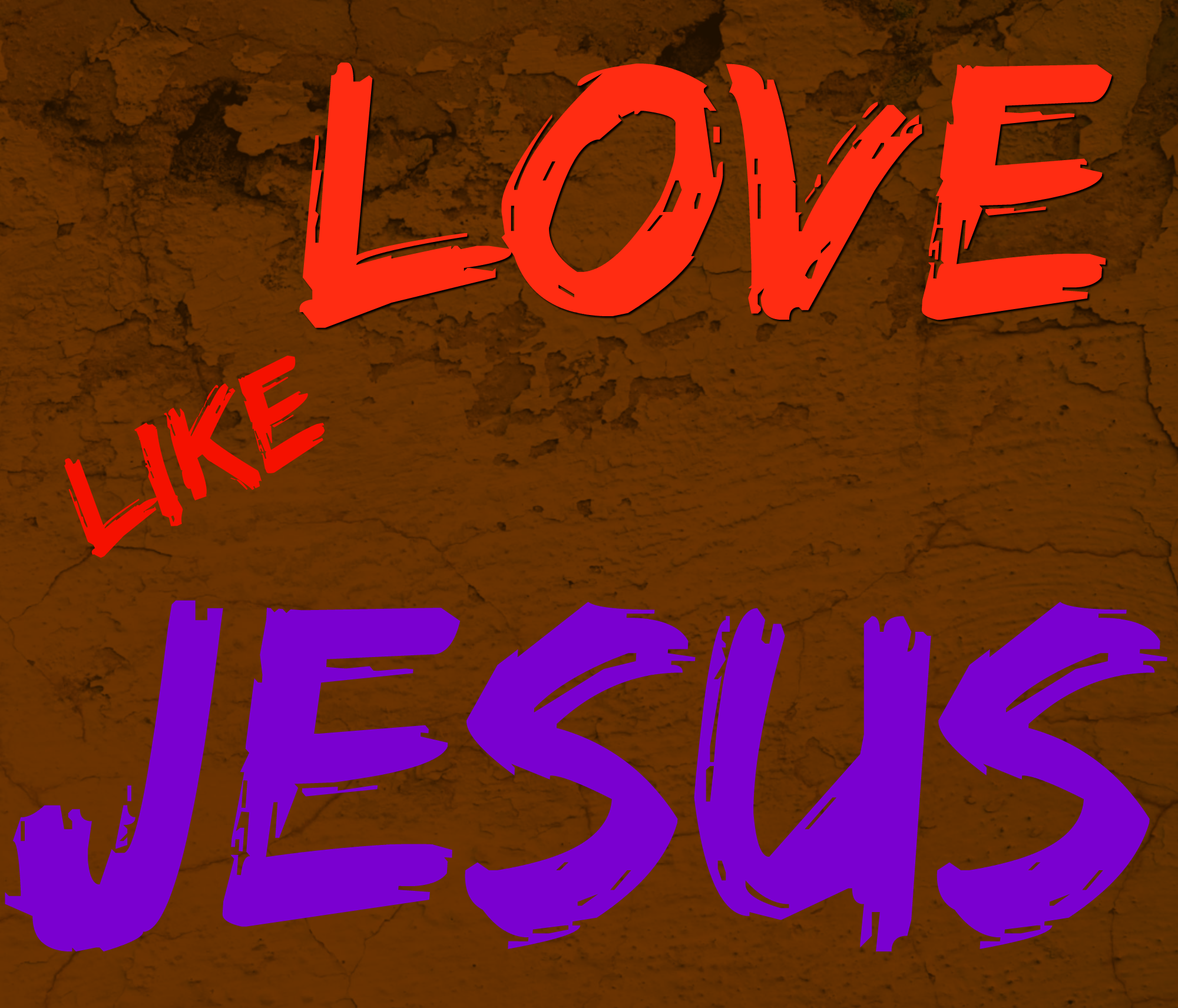 Love Jesus: Only At His Feet